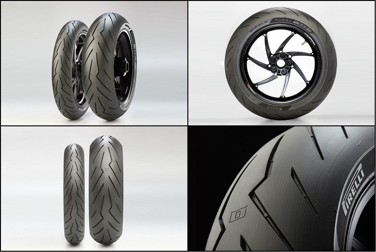 21e8949450b Construídos com a tecnologia apurada dos pneus usados no Campeonato do  Mundo de Superbikes