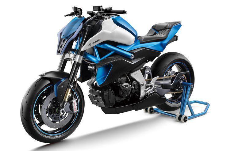 CF Moto prepara-se para lançar uma naked V-twin de 1000 cc - MotoNews - Andar de Moto
