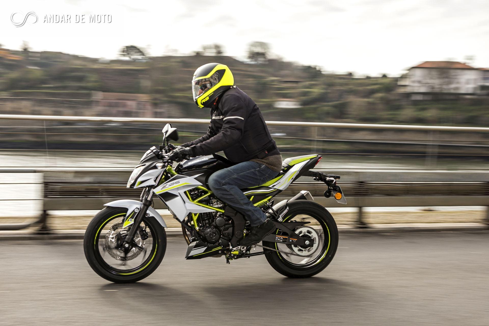 Apresentação e teste da Kawasaki ninja 400(2019) - YouTube