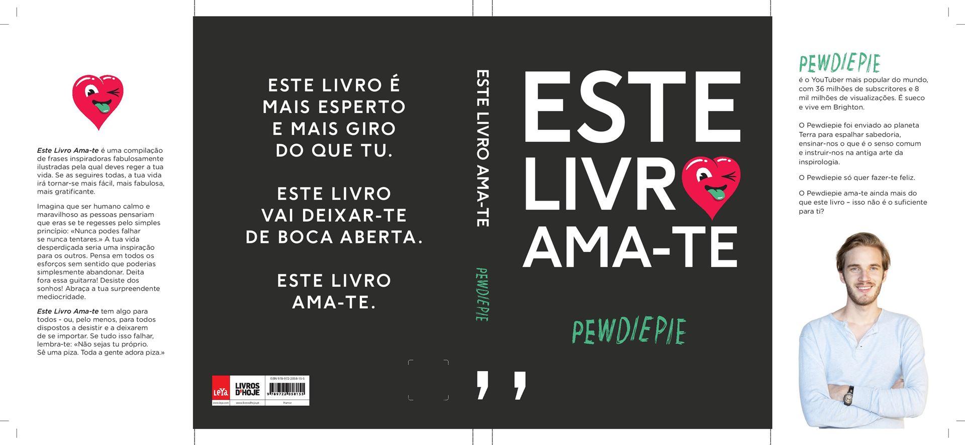 Lançamento Mundial De Este Livro Ama Te De Pewdiepie Notícias