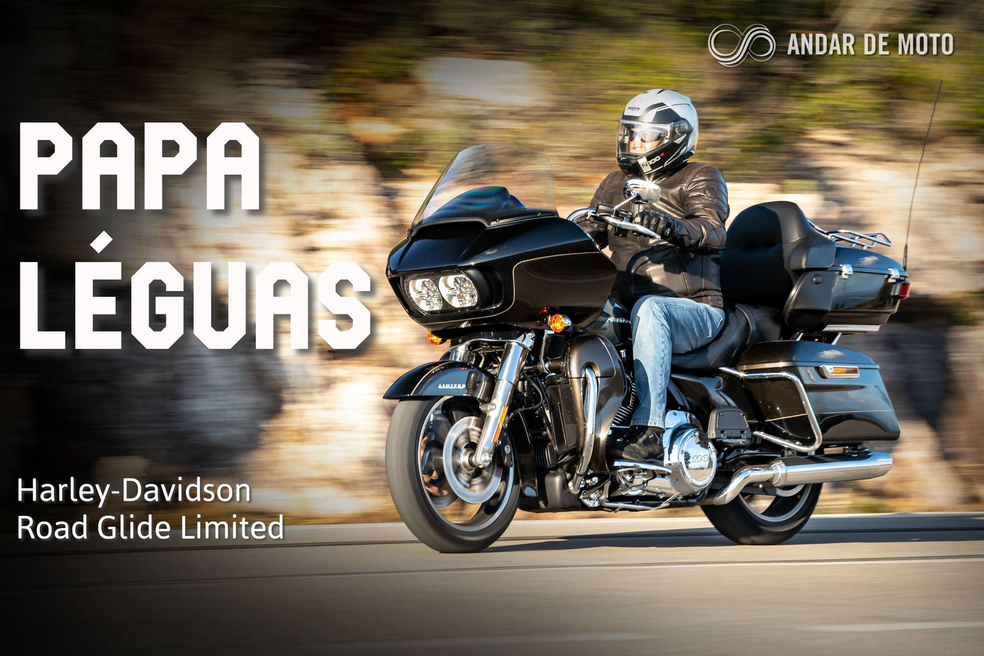 Teste Harley Davidson Road Glide Limited Papa Leguas Test Drives Andar De Moto Brasil