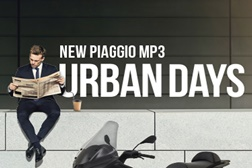 New Piaggio MP3 Urban Days
