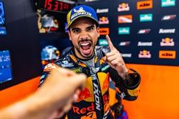MotoGP 2021 – A reação de Miguel Oliveira à vitória no Grande Prémio da Catalunha