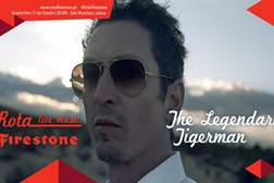 Rota Firestone passa por Portugal com concerto de The Legendary Tigerman