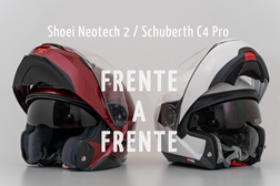c6aa3578f3e37 Frente-a-frente Capacetes  Shoei Neotech 2   Schuberth C4 Pro