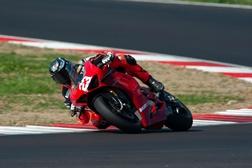 Ducati Panigale V4 S quase de série vence corrida em Itália!