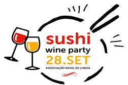 3.ª Sushi Wine Party na Doca de Belém