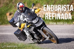 Teste BMW F850GS - Endurista refinada