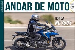 Publicação ANDAR DE MOTO - #36 Maio 2021