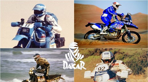 As motos que venceram o Dakar