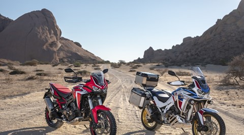 As Novas CRF1100L Africa Twin e Africa Twin Adventure Sports chegam à Europa