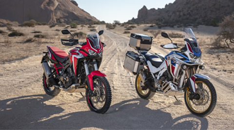 CRF1100L Africa Twin e CRF1100L Africa Twin Adventure Sports