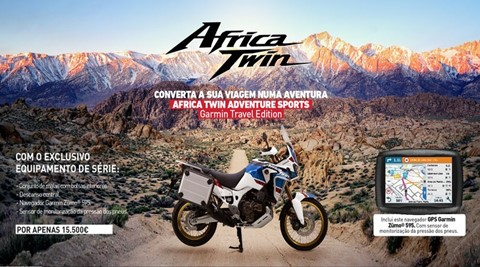 AFRICA TWIN ADVENTURE SPORTS - GARMIN TRAVEL EDITION
