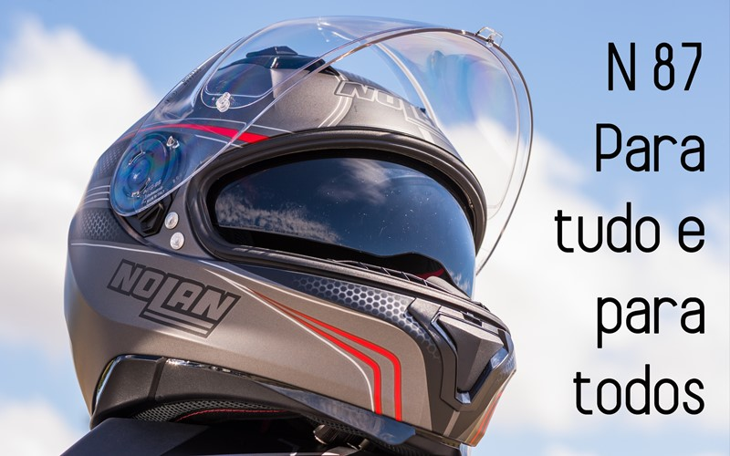 teste capacete nolan n87 motonews andar de moto. Black Bedroom Furniture Sets. Home Design Ideas