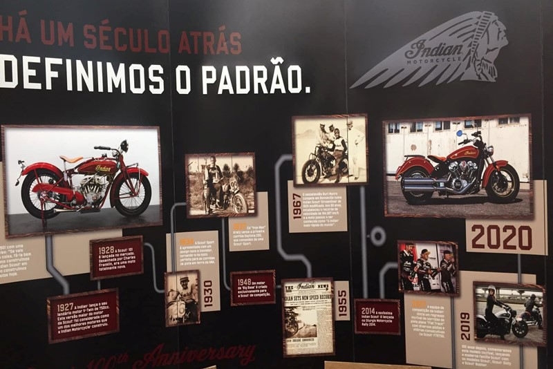 Exposição Indian Motorcycle no Cascais Shopping - MotoNews - Andar de Moto