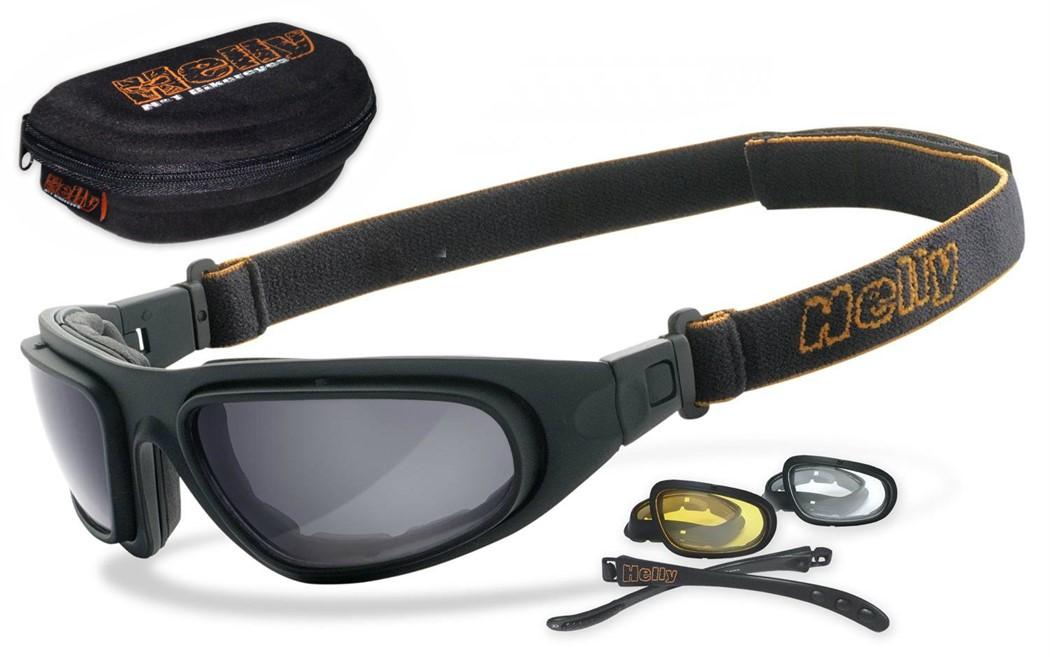 4291e78d4216b Helly No.1 Bikereyes - Óculos de sol e graduados específicos para  motociclismo