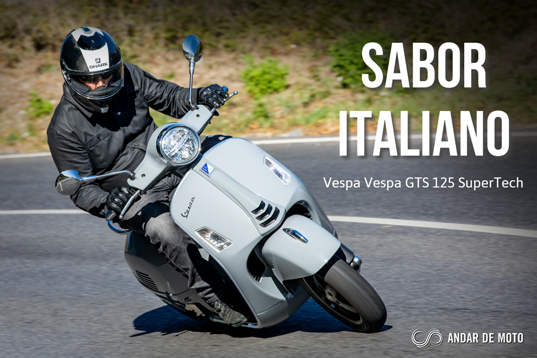 Teste Vespa Gts Super Tech 125 Sabor Italiano Test Drives Andar De Moto