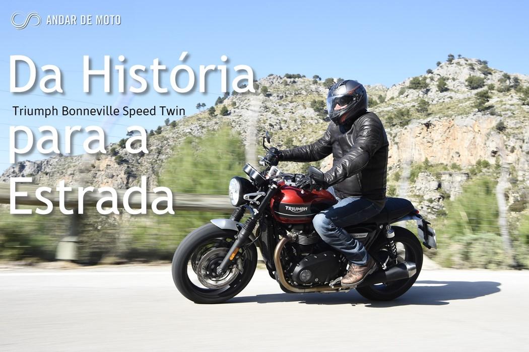 Teste Triumph Bonneville Speed Twin Da Historia Para A Estrada Test Drives Andar De Moto
