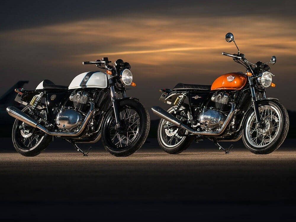 Royal Enfield Interceptor 650 e Continental GT 650