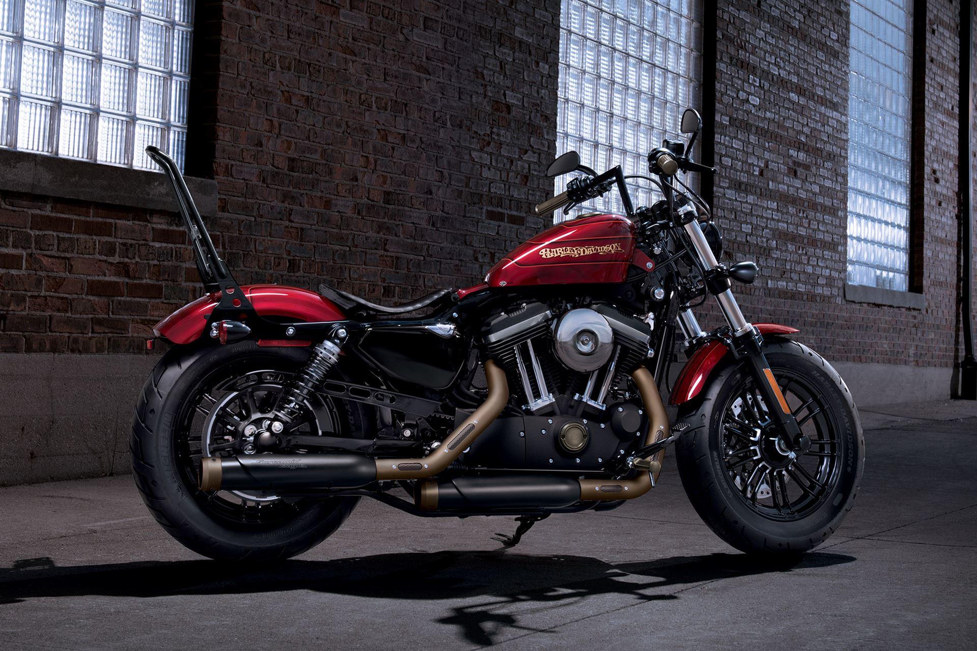Harley Davidson Forty Eight Moto Sportster Andar De