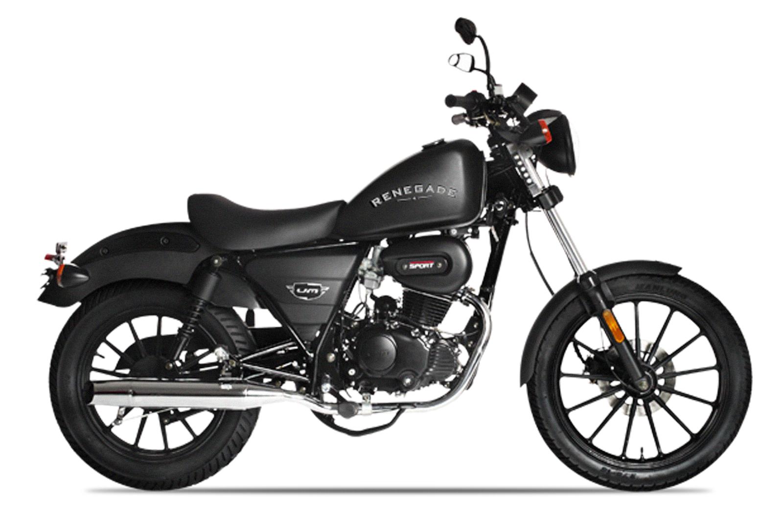 Um Renegade Sport Moto Cruiser Andar De Moto