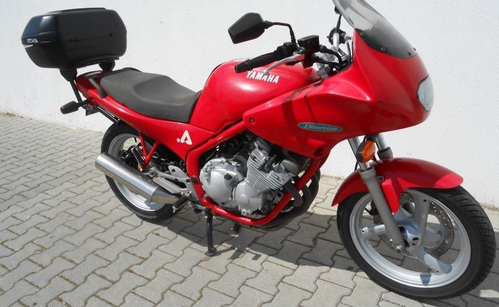 Yamaha Diversion Xj600s Moto Usada Preço 1 450 00 P9891 Moto Adão Marques Andar De Moto
