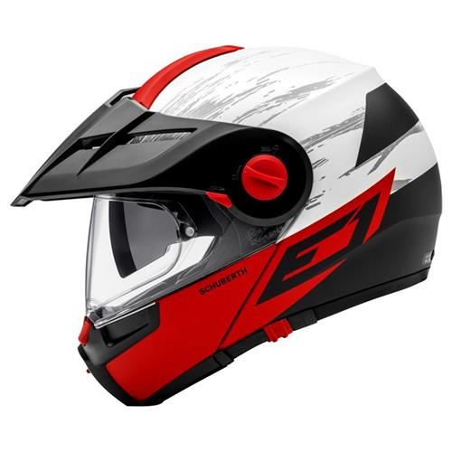 Schuberth Capacete E1 Crossfire Red