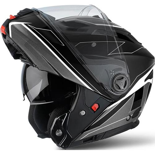 Capacete PHANTOM S SPIRIT Preto Matt AIROH (outlet)