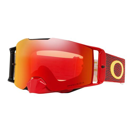 Oculos OAKLEY Front Line MX Equalizer Red Yellow