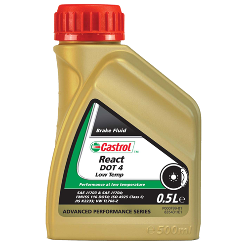 CASTROL React Performance Dot 4 (Garrafa 0.5 ml)