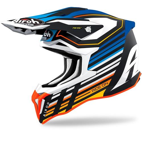 Capacete STRIKER SHADED Azul Matt AIROH 2020