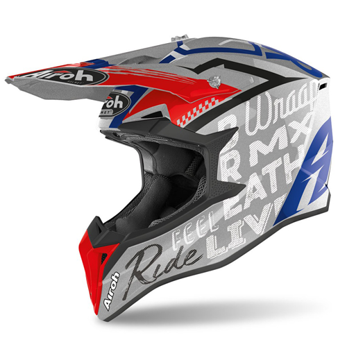 Capacete WRAAP STREET Cinza Gloss AIROH 2020