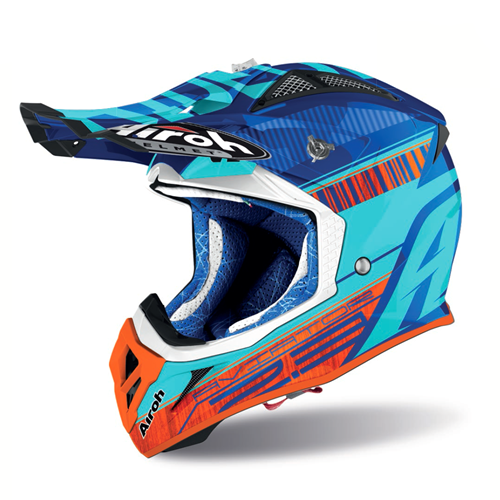 Capacete AVIATOR 2.3 NOVAK Chrome Azure 2020