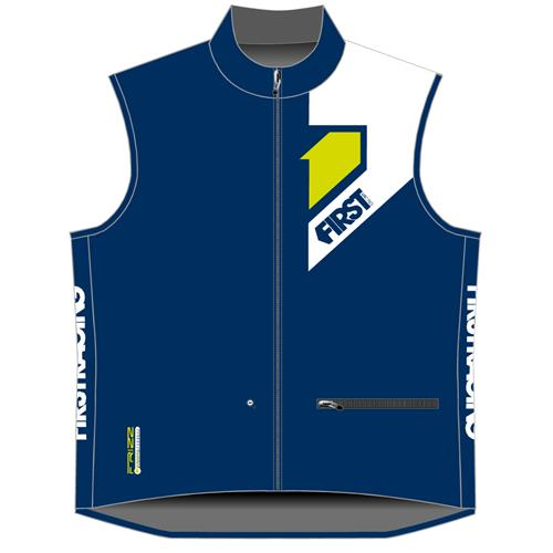 FIRST RACING Colete Frizz BodyWarmer Azul