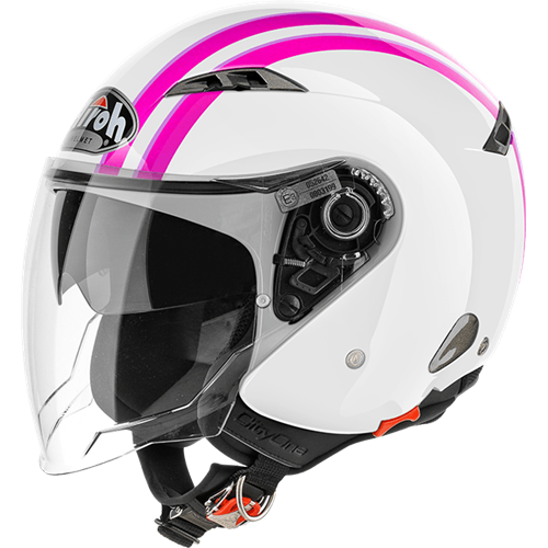 Capacete CITY ONE STYLE Rosa AIROH
