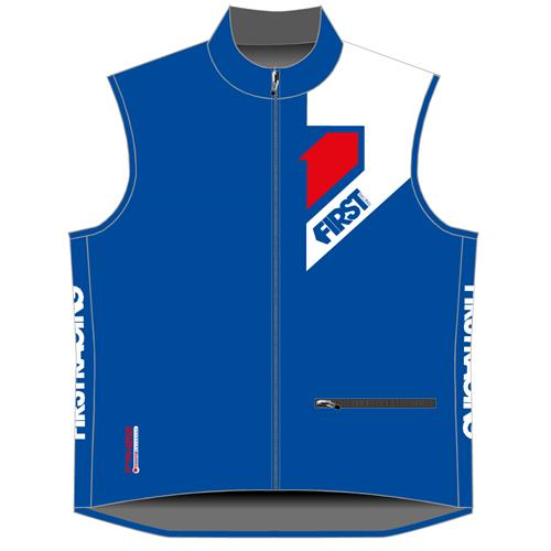 FIRST RACING Colete Frizz BodyWarmer Hexagon