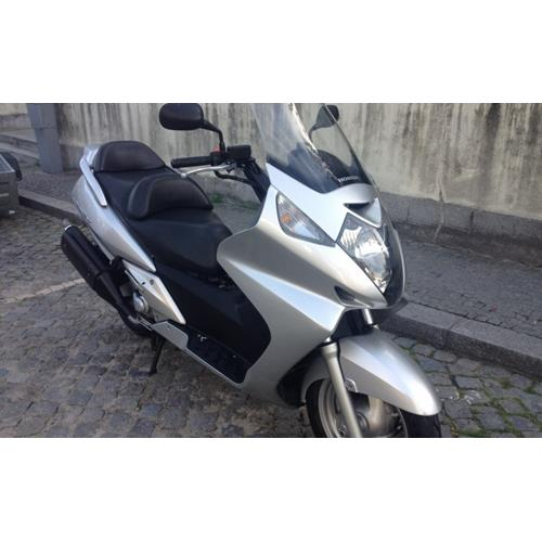 Honda Silver Scooter