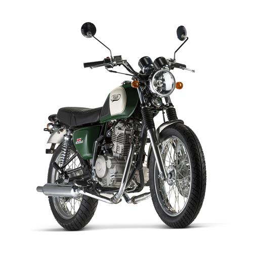 Mash Five Hundred 400cc - Irish Green