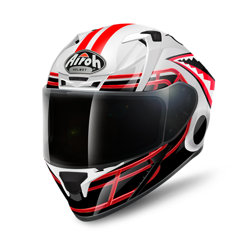 Capacete VALOR TOUCHDOWN Gloss AIROH