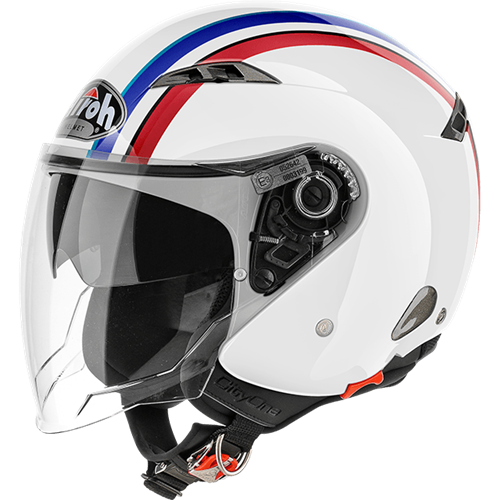 Capacete CITY ONE STYLE Branco/Gloss AIROH