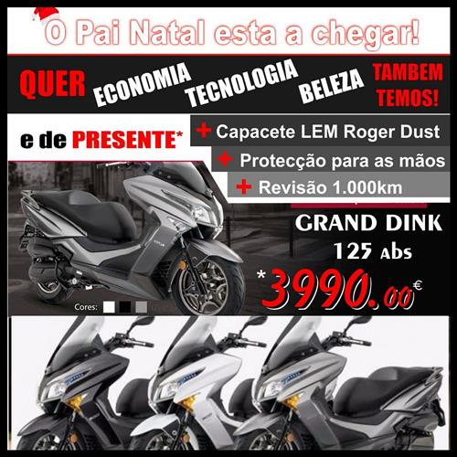 Kymco Dink Grand 125 abs