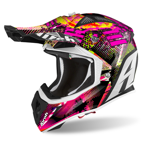 AIROH Capacete AVIATOR ACE INSANE Matt 2020