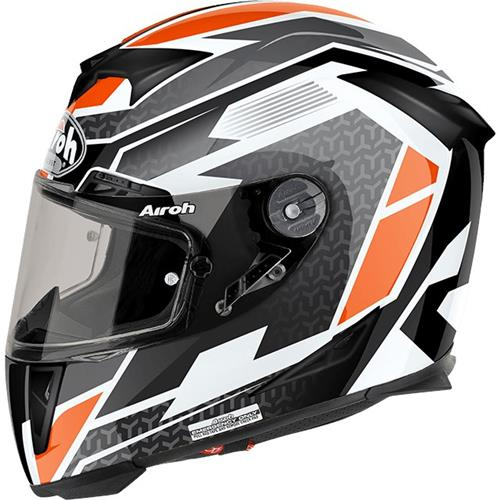AIROH GP500 Regular Laranja Gloss