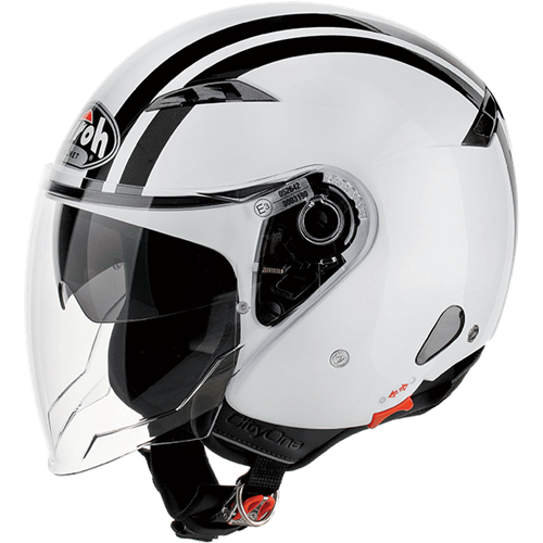 Capacete CITY ONE FLASH Branco AIROH