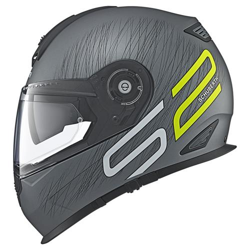 Schuberth S2 Sport drag yellow