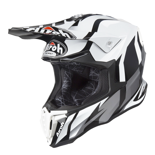 AIROH Capacete TWIST 2.0 FRAME Cinza Gloss 2020