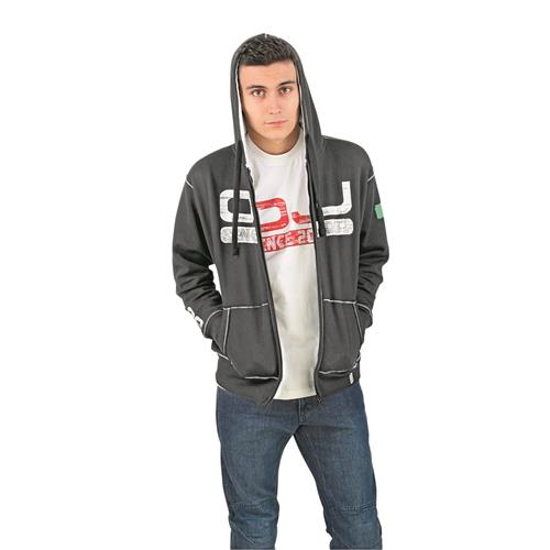 Sweatshirt Preto/Branco OJ SINCE S-SHIRT