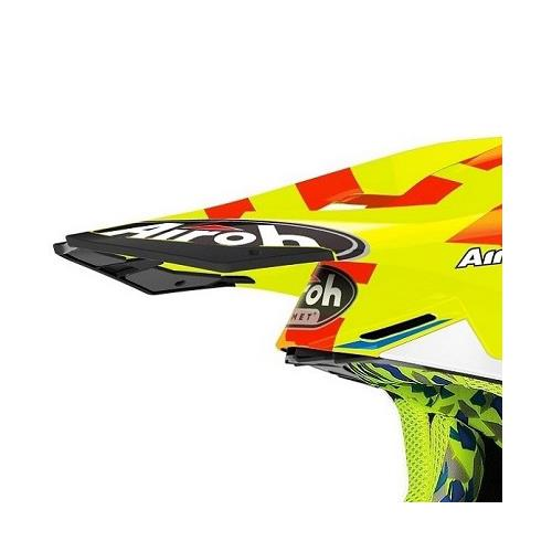 Pala Capacete TWIST 2.0 FRAME Amarelo Gloss AIROH