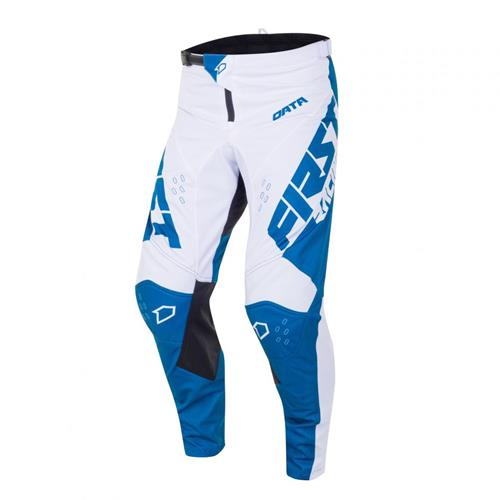 FIRST RACING Calça DATA EVO 2 Branco/Denim 2020 FIRST