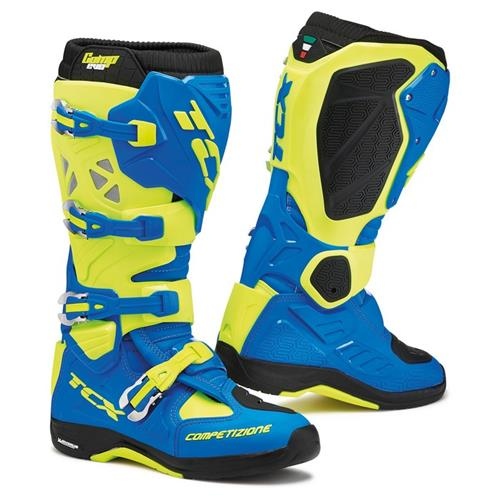 TCX Comp Evo Michelin Azul Royal/Amarelo Fluo